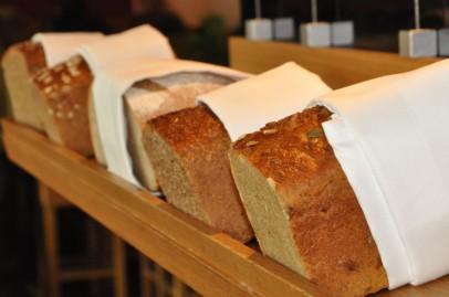 Ein Blick auf die Brotbar.