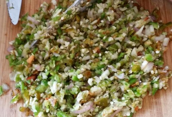 Kochtreff-Frühlingsrollen-Chinasauce